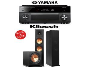 Yamaha RX-A2060BL AVENTAGE 9.2-Channel Network A/V Receiver + Klipsch RP-280F + Klipsch R-112SW - 2.1 Reference Premiere Home Theater Package