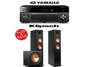 Yamaha RX-A3060BL AVENTAGE 11.2-Channel Network A/V Receiver + Klipsch RP-260F + Klipsch R-112SW - 2.1 Reference Premiere Package