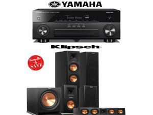 Klipsch Reference Premiere RP-250F 5.1 Home Theater System with Yamaha RX-A860BL 7.2-Ch A/V Receiver