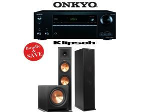 Onkyo TX-NR656 7.2 Channel Network A/V Receiver + Klipsch RP-280F + Klipsch R-112SW - 2.1 Reference Premiere Home Theater Package