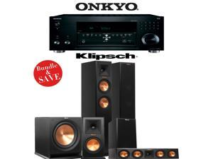 Klipsch RP-260F 5.1 Reference Premiere Home Theater System with Onkyo TX-RZ810 7.2-Ch Network A/V Receiver