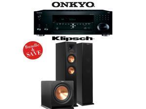 Onkyo TX-RZ810 7.2-Channel Network A/V Receiver + Klipsch RP-260F + Klipsch R-112SW - 2.1 Reference Premiere Package