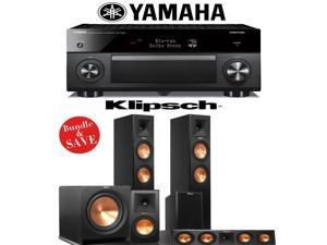Klipsch RP-260F 5.1 Reference Premiere Home Theater System with Yamaha RX-A2060BL 9.2-Ch Network A/V Receiver