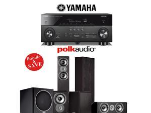 Yamaha AVENTAGE RX-A760BL 7.2-Channel Network A/V Receiver + Polk Audio TSi 300 + Polk Audio CS10 + Polk Audio TSi 100 + Polk Audio PSW110 - 5.1 Home Theater Package