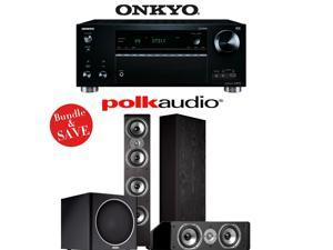 Onkyo TX-RZ710 7.2-Channel Network A/V Receiver + Polk Audio TSi 500 + Polk Audio CS10 + Polk Audio PSW110 - 3.1 Home Theater Package