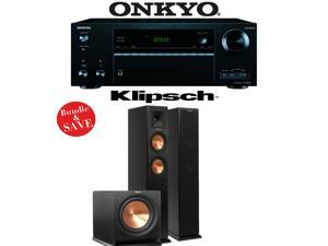 Onkyo TX-NR656 7.2 Channel Network A/V Receiver + Klipsch RP-250F + Klipsch R-112SW - 2.1 Reference Premiere Home Theater Package