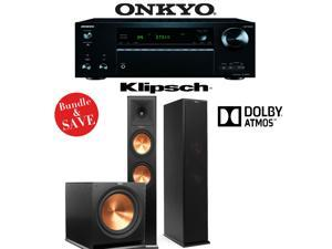 Onkyo TX-NR757 7.2-Channel Network A/V Receiver + Klipsch RP-280FA + Klipsch R-115SW - 2.1 Reference Premiere Package