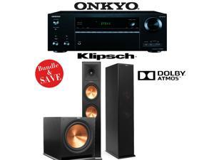 Onkyo TX-NR656 7.2 Channel Network A/V Receiver + Klipsch RP-280FA + Klipsch R-115SW - 2.1 Reference Premiere Home Theater Package
