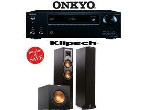 Onkyo TX-NR656 7.2 Channel Network A/V Receiver + Klipsch R-26F + Klipsch R-10SW - 2.1 Home Theater Package