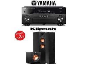 Yamaha AVENTAGE RX-A860BL 7.2 Channel Network AV Receiver + Klipsch RP-250F + Klipsch R-110SW - 2.1 Reference Premiere Home Theater Package