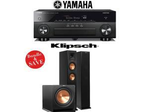 Yamaha AVENTAGE RX-A860BL 7.2 Channel Network AV Receiver + Klipsch RP-260F + Klipsch R-112SW - 2.1 Reference Premiere Home Theater Package