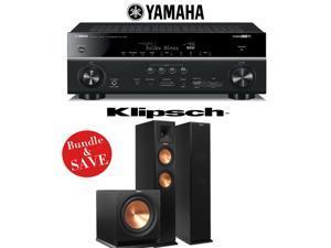 Yamaha RX-V781BL 7.2-Channel 4K A/V Receiver + Klipsch RP-260F + Klipsch R-112SW - 2.1 Reference Premiere Package