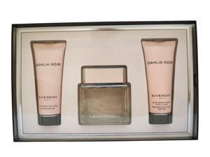 Givenchy Dahlia Noir Set EDT 2.5 oz, Moisturizing Milk 2.5 oz & Bath Gel 2.5 oz