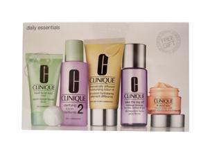 Clinique Daily Essentials Kit Dry & Combination Skin 5 Piece Set