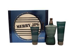 Jean Paul Gaultier Le Male Gift Set 4.2oz,EDT, 2.5oz, All Over Shower Gel 1.7oz