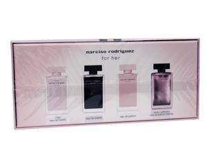 Narciso Rodriguez Mini Coffret for Women, 4 x 0.25 oz.