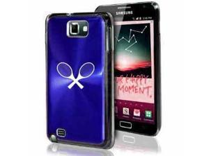 Samsung Galaxy Note i9220 i717 N7000 Blue F222 Aluminum Plated Hard Case Tennis Racquets