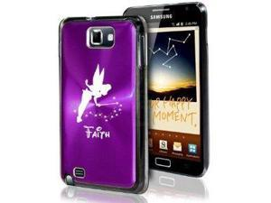 Samsung Galaxy Note i9220 i717 N7000 Purple F19 Aluminum Plated Hard Case Fairy Faith