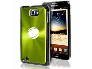 Samsung Galaxy Note i9220 i717 N7000 Green F252 Aluminum Plated Hard Case Tennis Ball