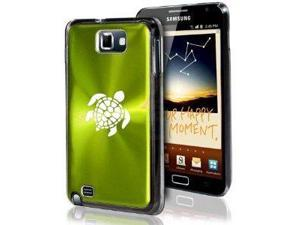 Samsung Galaxy Note i9220 i717 N7000 Green F51 Aluminum Plated Hard Case Sea Turtle