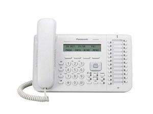 Panasonic KX-NT543 White 3-Line Backlit LCD IP Phone w/24 Buttons
