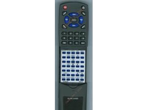 PANASONIC Replacement Remote Control for N2QAHB000065, SCAK240 SILVER, SAAK340 SILVER