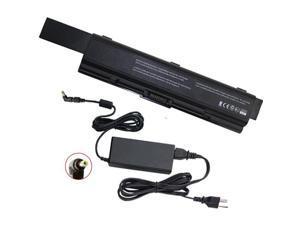 Toshiba Satellite L450D-119 Laptop Battery and 65 Watt Adapter - Premium Powerwarehouse 12 Cell Battery and 65 Watt Adapter Combo
