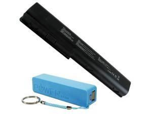 HP HDX X18, Pavilion DV7-1000, Pavilion DV7-2000, Pavilion DV7T-1000, Pavilion DV8-1000, Pavilion DV8T Battery - Premium Powerwarehouse Battery 8 Cell KS525AA GA08 486766-001 464059-141