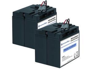 Powerwarehouse APC SUA1500 UPS Battery - Premium Powerwarehouse 12V Lead Acid Battery Catridge #7 (2 Pack)