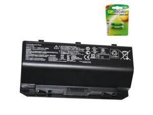 Asus G750JX-CV069P Laptop Battery - Premium Powerwarehouse Battery 8 Cell (Free AAA Battery) 15V 5900mAh 88Wh A42-G750, A42G750, 0B110-00200000, 0B110-00200000M
