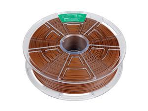 WINBO Brand 1.75mm 1KG N/W Brown ABS filament for most 3D printer transparent reel
