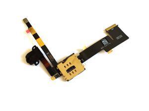 iPad 2 3G Audio Headphone Jack Flex Cable + Sim Card Slot Replacement Part