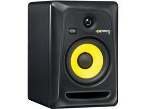 KRK RP6G3-NA Rokit 6 Generation 3 Powered Studio Monitor, White, Single Speaker
