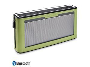 Bose SoundLink Bluetooth Mobile Speaker III and Green Cover
