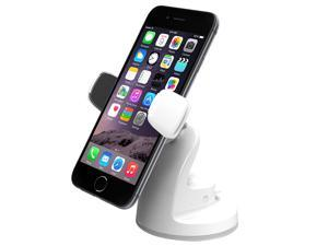iOttie HLCRIO115WH Easy View 2 Universal Car Mount Holder for iPhone 6/5s/5c/4S, and Smartphone- White