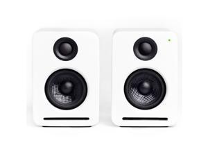 NOCS NS2-102US NS2 Air Monitors V2 Bookshelf Speaker (White)