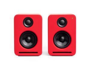 Nocs NS2-108US NS2 Air Monitors V2 Bookshelf Speakers - Pale Red