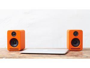 Nocs NS2-110US NS2 Air Monitors V2 Bookshelf Speakers - Contemporary Orange