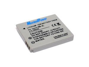 Maximalpower NB-4L Battery for Cannon Powershot SD1400 IS,SD 30 40 200 400 430 600 750 780 940IS 960IS 1000 1100IS, ELPH 100HS 300 HS 310HS TX1, Fully Decoded w 3 Yr Warranty