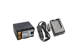 Maximal Power FC500 JVC VF808+DB JVC VF808 Camera Battery and USB Charger Combo for JVC BN-VF808, BN-VF815 and BN-VF815U ...