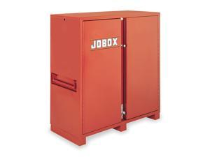 Jobox - 1-694990 - 60-3/4 x 24-1/4 x 60-1/8 Jobsite Storage Cabinet, 47.5 cu. ft., Brown