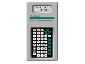 Stokes Publishing - 252 - Stokes Publishing TI-30XII Overhead Calculator - 2 Line(s) - 10 Character(s) - LCD - Battery