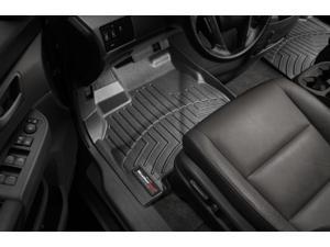 WeatherTech - 444761 - 2013 Lexus ES Black 1st Row FloorLiner