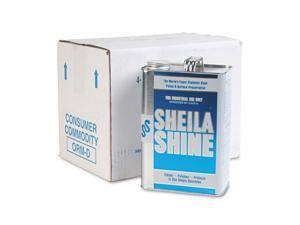 Sheila Shine - 4 - Stainless Steel Cleaner & Polish, 1gal Can, 4/Carton