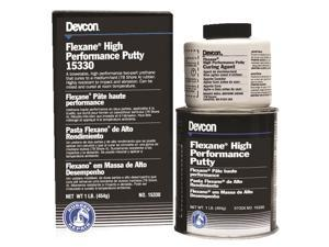 Devcon - 15330 - 1lb Flexane Urethane Compound Putty, Ea