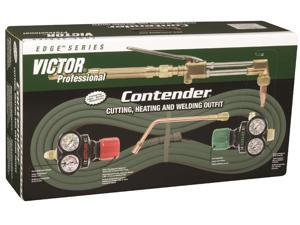Victor - 0384-2051 - Cutting and Heating Outfit, CA2460, ESS3-125-540, ESS3-15-300, Acetylene Fuel, 315FC Torch Handle