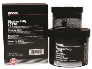 Devcon - 10770 - 2lb Titanium Putty Compound, Ea