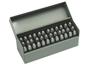 C.H. Hanson - 20624 - Letter and Number Set, 1/8 In. H, Steel