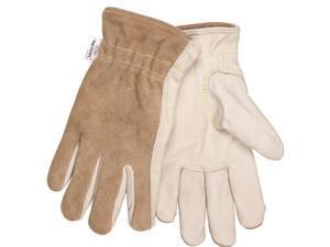 Memphis Glove - 3204KL - Cow Grain Drvr/split Back Kevlar Lined L