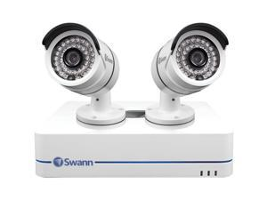 SWANN SWNVK-470852-US 4-Channel 720P NVR with 2 Security Cameras